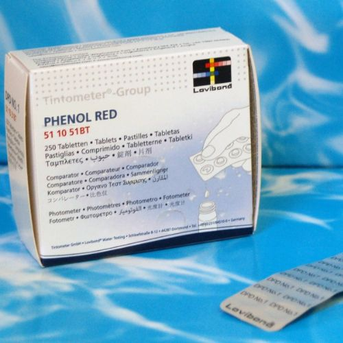 Lovibond Comparitor Phenol Red - Test Tablet - (250)
